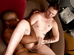 Hung Black Guy Fucks Tiny White Ass